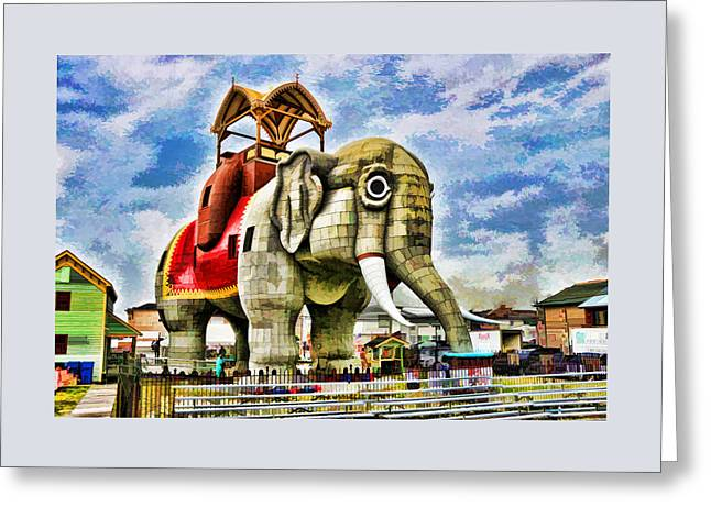 Lucy The Elephant 2 Greeting Card