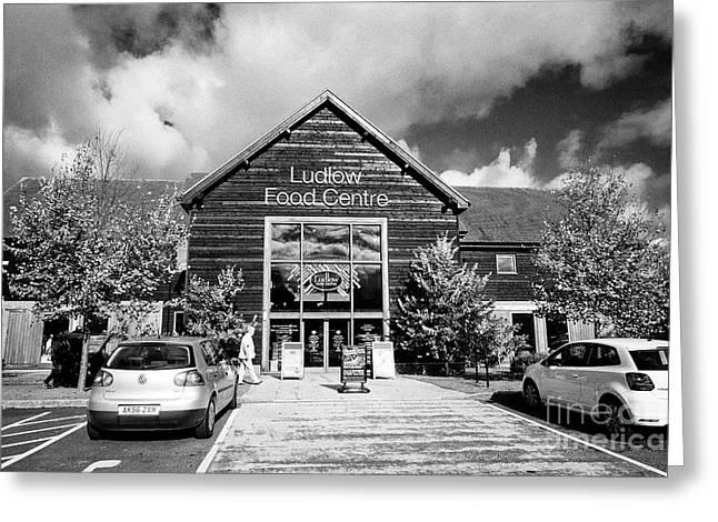 Ludlow Food Centre Shropshire England Greeting Card by Joe Fox