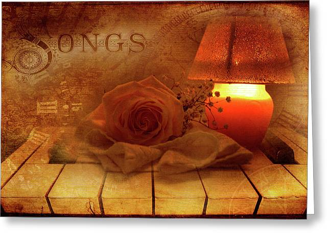 Lullaby Greeting Card by Rozalia Toth