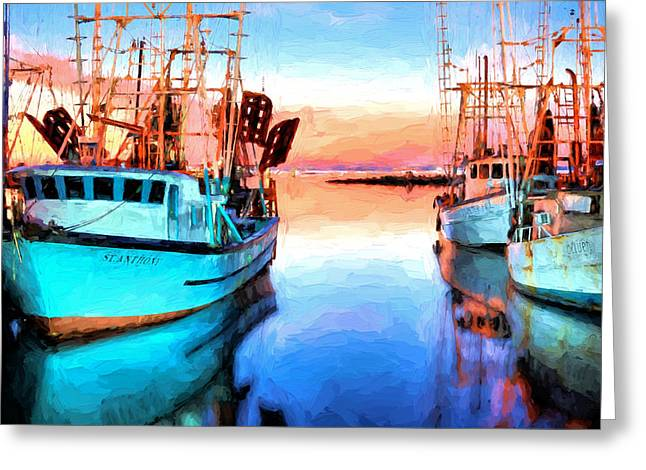 Luminance On Pensacola Bay Greeting Card by JC Findley
