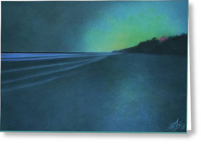 Luminescence At Torrey Pines II Greeting Card by Robin Street-Morris