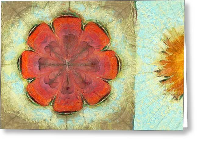 Lumme Fiber Flowers  Id 16165-044955-91880 Greeting Card