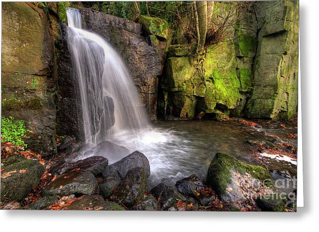 Greeting Card featuring the photograph Lumsdale Falls 3.0 by Yhun Suarez
