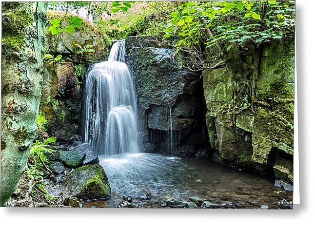Lumsdale Falls Greeting Card