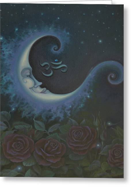 Lunar Connections Greeting Card