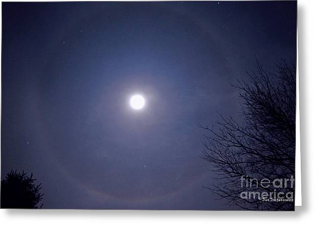 Lunar Corona Greeting Card