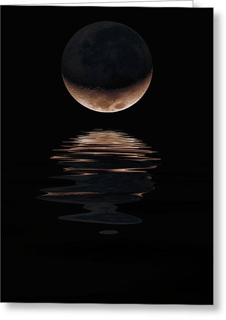 Lunar Dance Greeting Card by Jerry McElroy