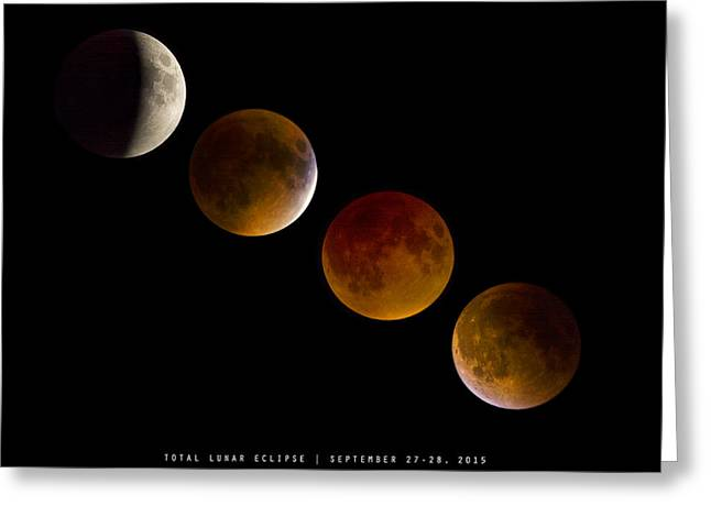 Lunar Eclipse 2015 Greeting Card