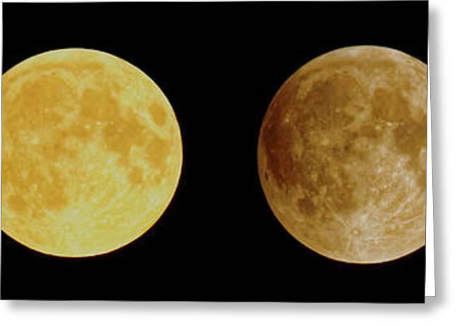 Lunar Eclipse Progression Greeting Card