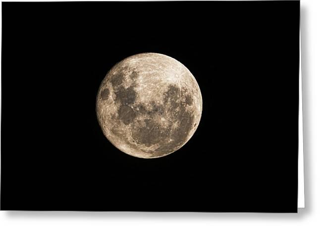 Lunar Perigee Greeting Card