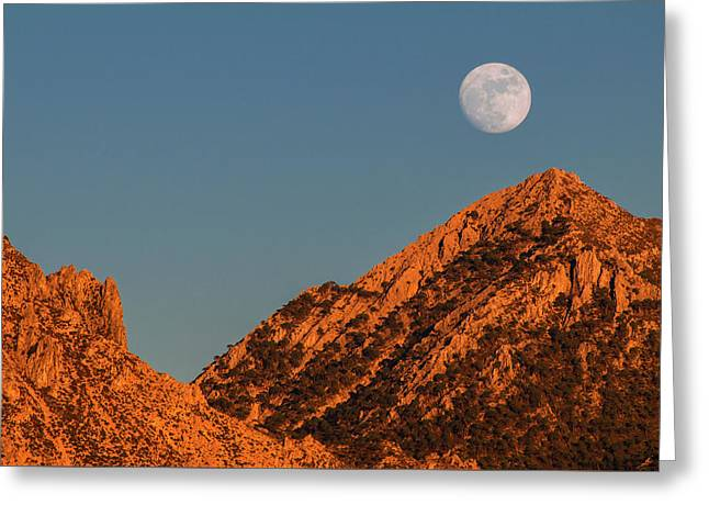 Lunar Sunset Greeting Card