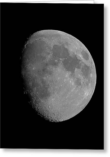 Lunarcy Over Cape Cod Canal Greeting Card