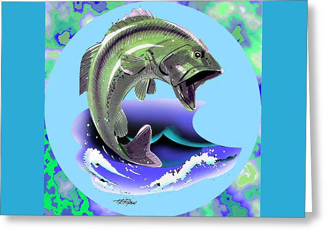 Lunker Greeting Card