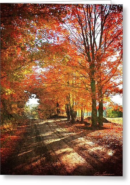 Lupton Road Greeting Card
