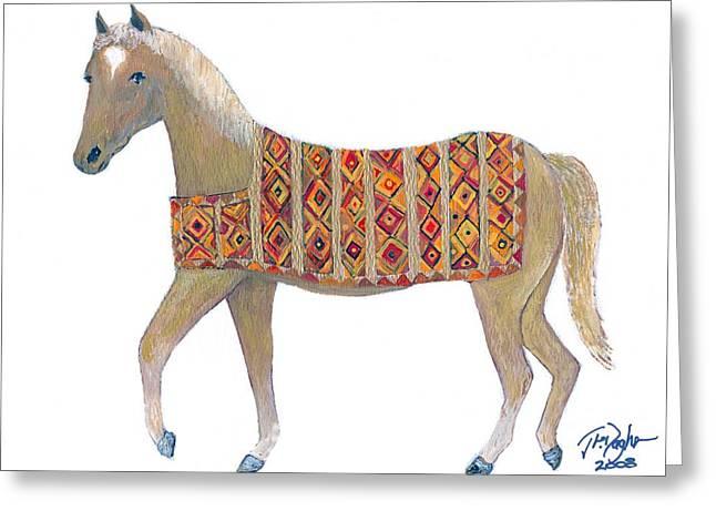 Luri Pony Greeting Card