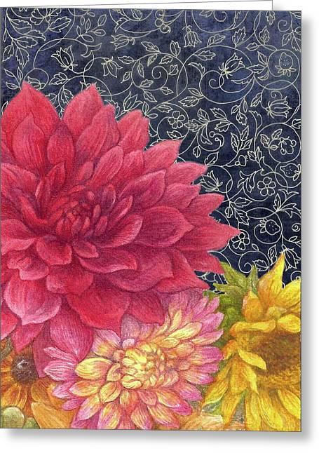 Lush Fall Botanical Greeting Card