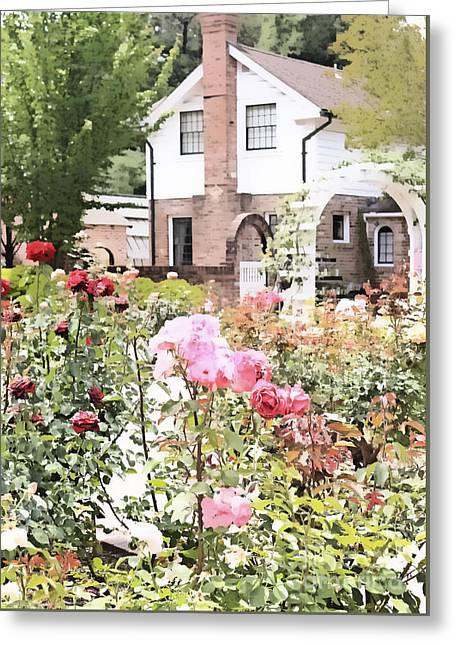 Luther Burbank Home And Gardens Greeting Card