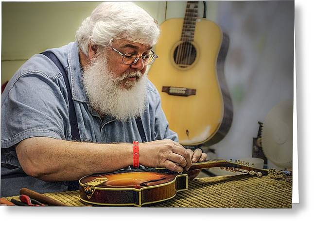 Luthier Greeting Card