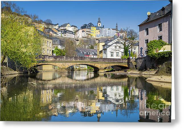 Luxembourg City Greeting Card by JR Photography