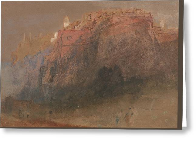 Luxembourg Greeting Card by Joseph Mallord William Turner