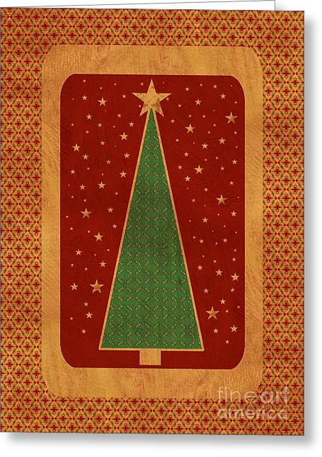 Luxurious Christmas Card Greeting Card