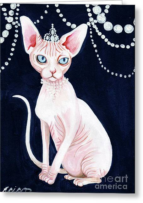 Luxurious Sphynx Greeting Card