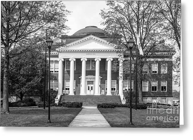 Lynchburg College Hopwood Hall Greeting Card by University Icons