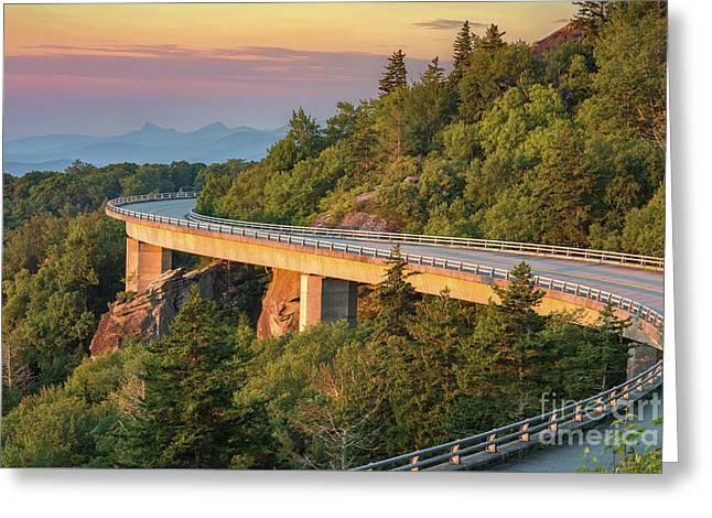 Lynn Cove Viaduct Greeting Card