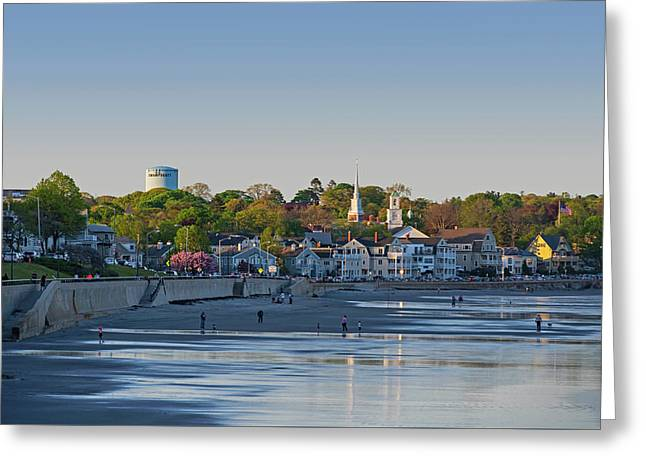 Lynn Waterfront Swampscott Water Tower Lynn Ma Greeting Card