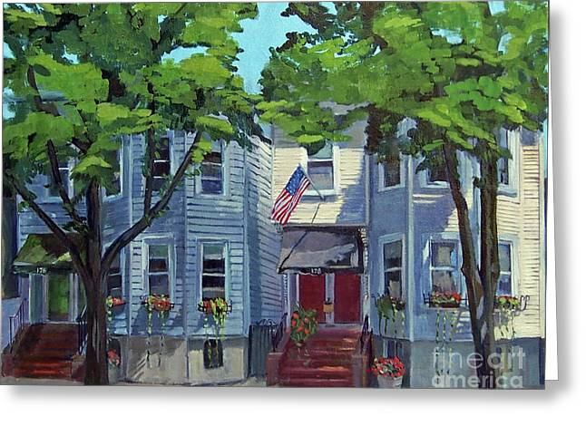 M St Afternoon Greeting Card