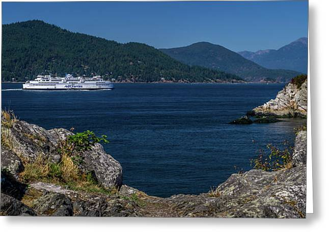M/v Queen Of Cowichan Greeting Card