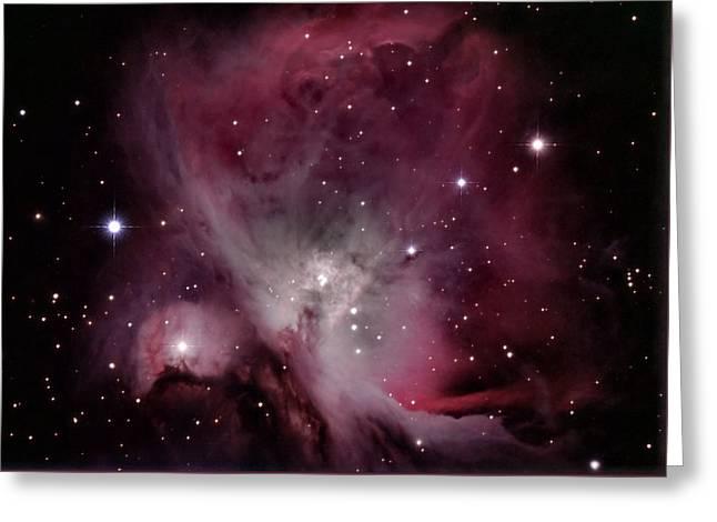 M42 Orion Nebula Greeting Card