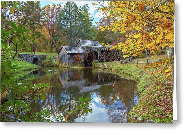 Mabry Mill 5 Greeting Card by Tom Weisbrook