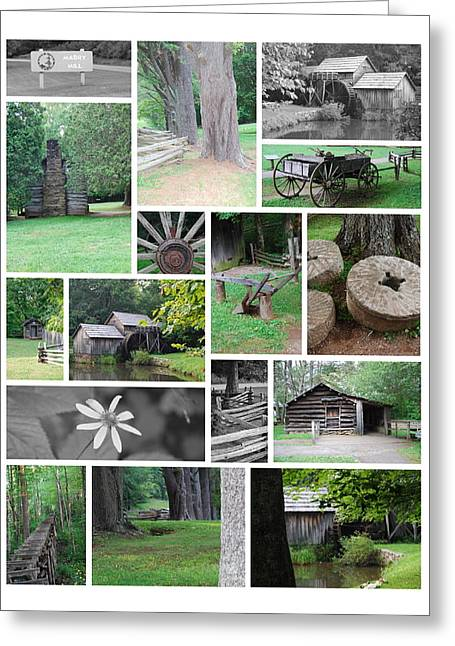 Mabry Mill Greeting Card