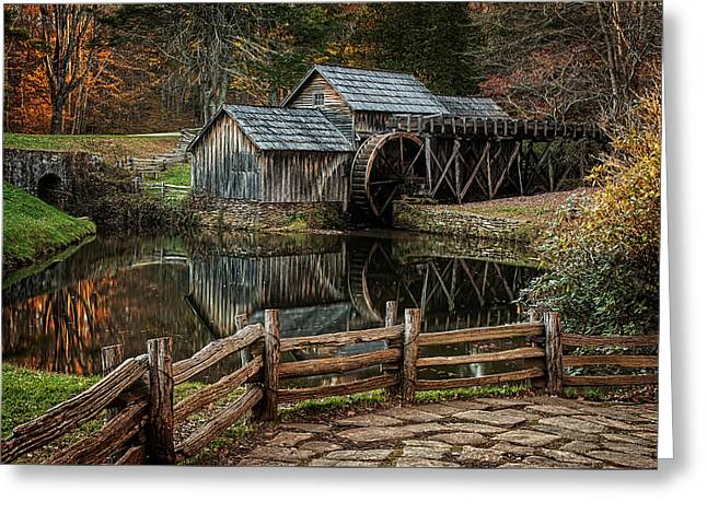 Mabry Mill Greeting Card by Ken Smith