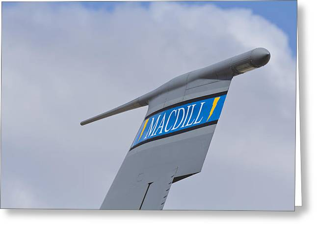 Macdill Mobile Gas Station Greeting Card