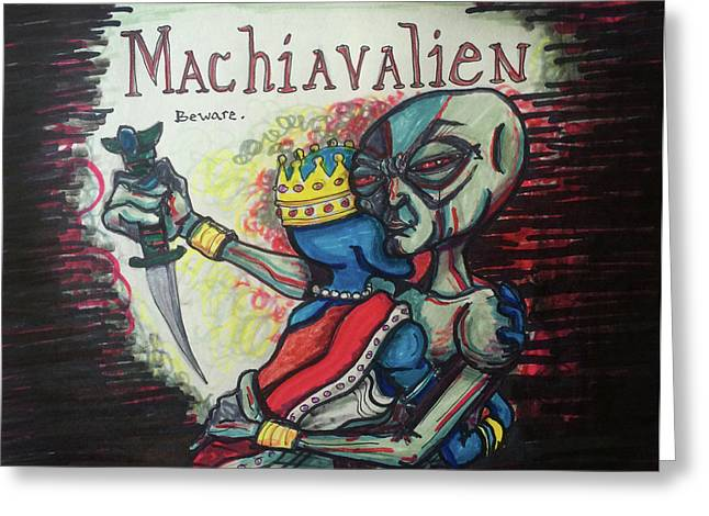 Machiavalien Greeting Card