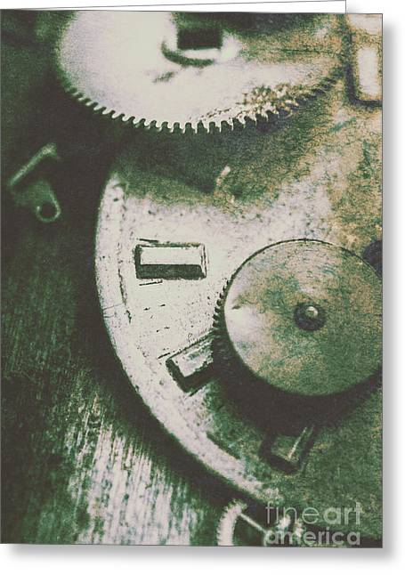 Machinery From The Industrial Age Greeting Card