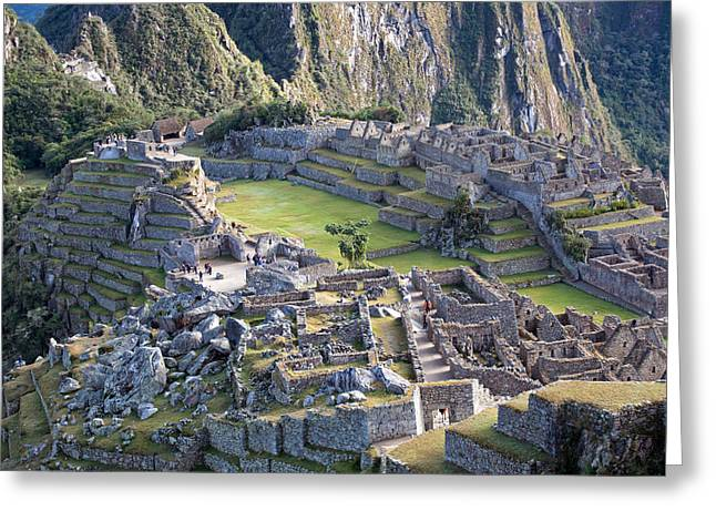 Machu Picchu Inca Ruins Greeting Card