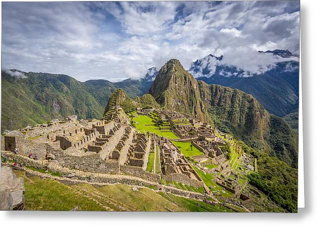 Machu Picchu Peru Greeting Card