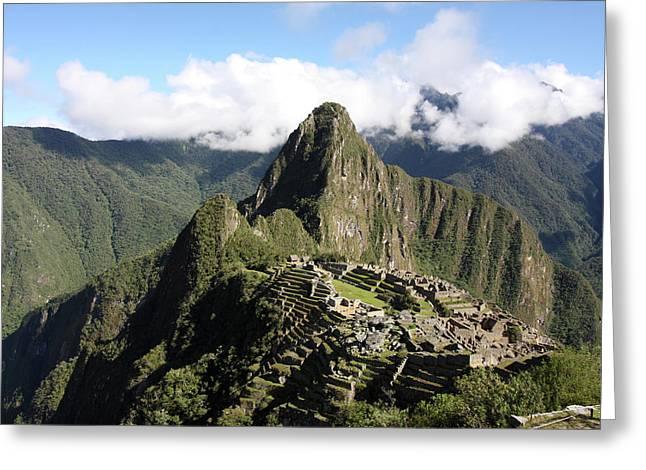 Machu Picchu Ruin, Peru Greeting Card