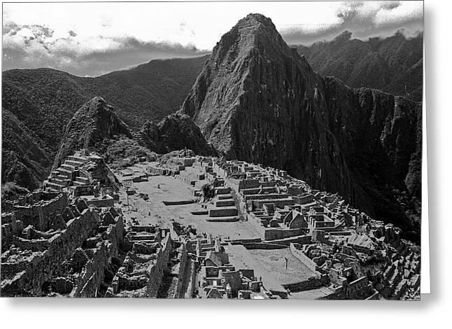 Machu Pichu - Peru Greeting Card