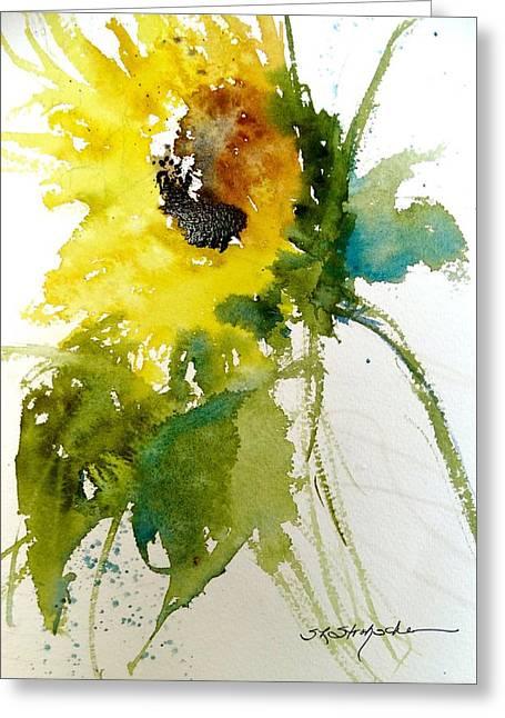 Maci's Sunflower Greeting Card