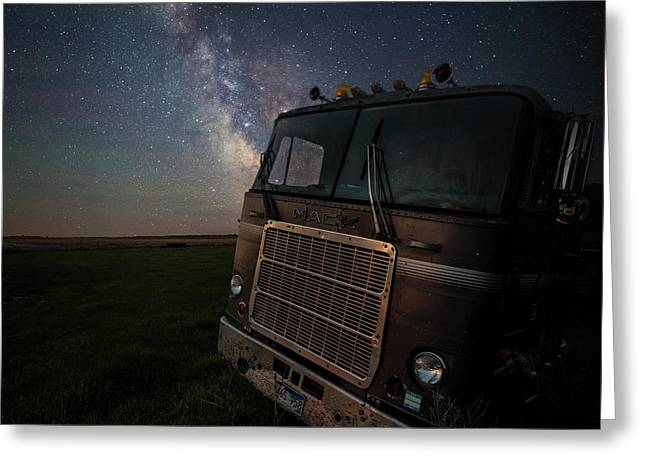 Greeting Card featuring the photograph Mack by Aaron J Groen