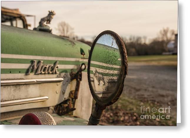 Mack Reflection Greeting Card