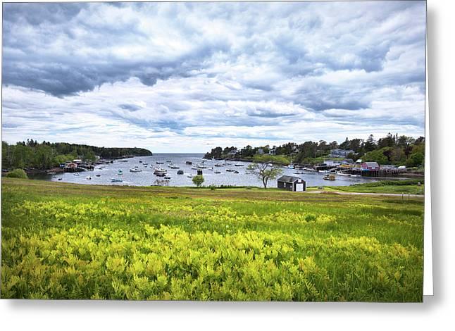 Mackerel Cove, Bailey Island Maine Greeting Card