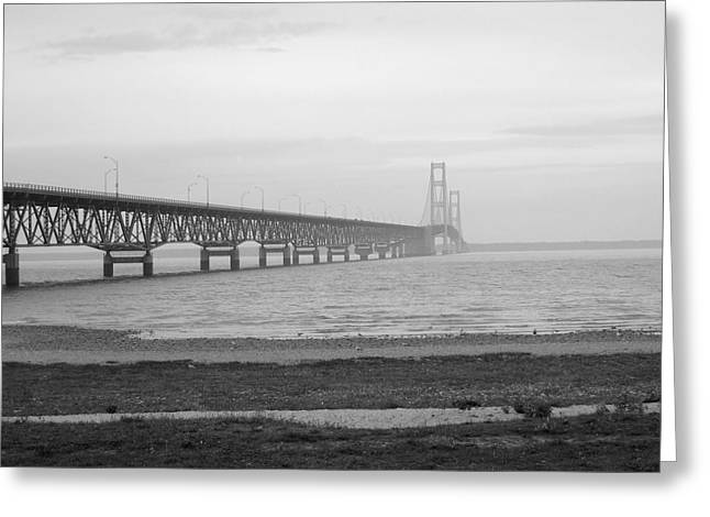 Mackinaw Bridge Greeting Card