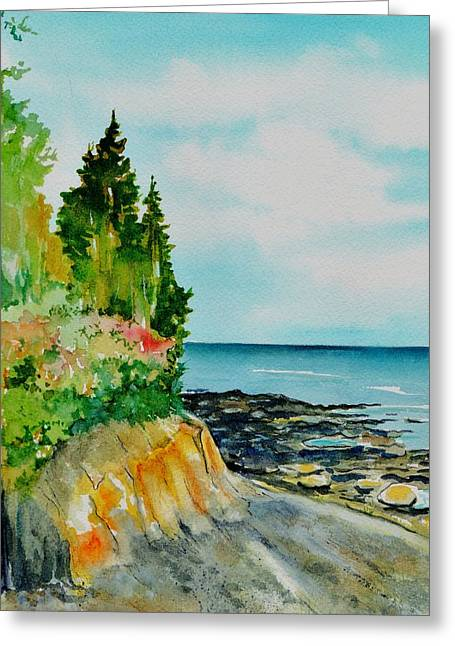 Mackworth Island Maine  Greeting Card