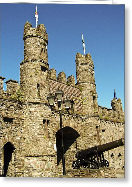 Ira Greeting Cards - Macroom Castle County Cork Ireland Greeting Card by Teresa Mucha