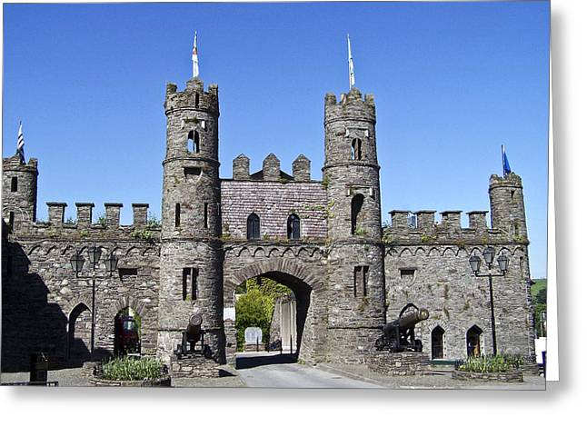 Macroom Castle Ireland Greeting Card